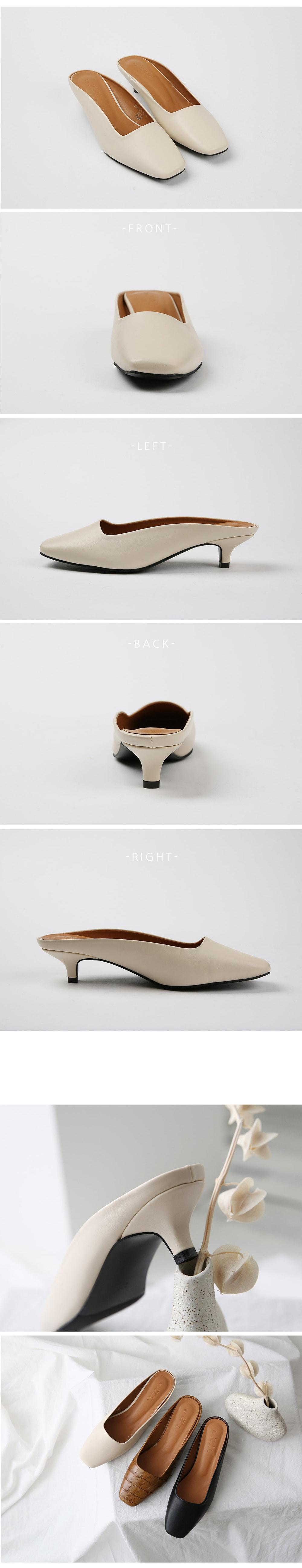 더보이더걸WS-6648(4cm) 사각코 여자 뮬 슬리퍼 블로퍼 - 더보이더걸, 40,800원, 슬링백/블로퍼, 블로퍼