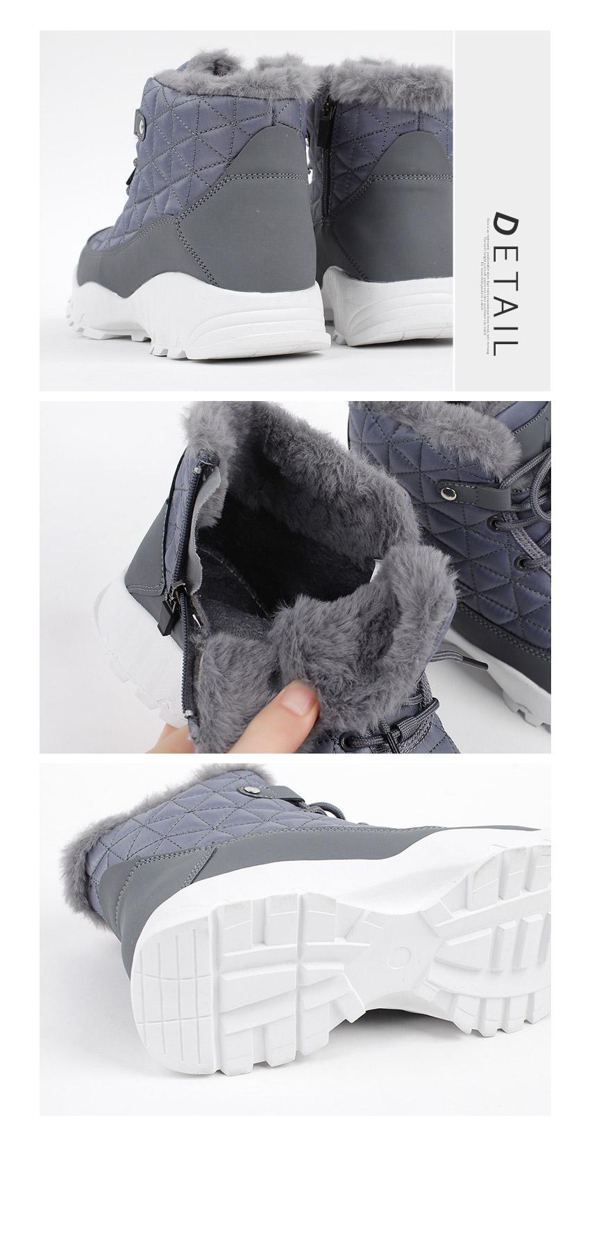 WS-6885 여자 패딩 털안감 스니커즈 겨울 신발 운동화 - 더보이더걸, 39,800원, 운동화/슬립온, 운동화