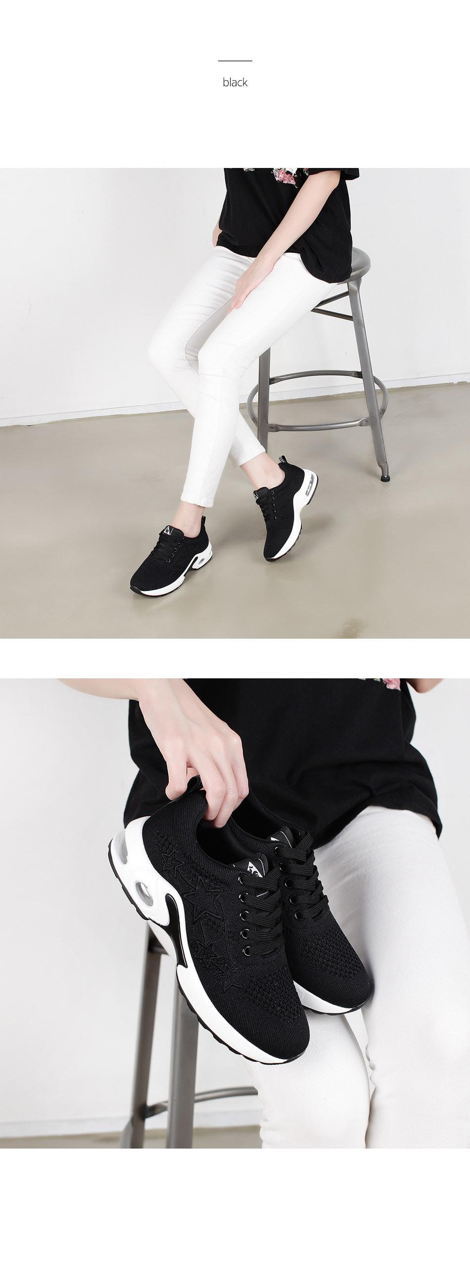 WS-6903 여자 캐주얼 운동화 스니커즈 블랙 레드 - 더보이더걸, 44,800원, 운동화/슬립온, 운동화